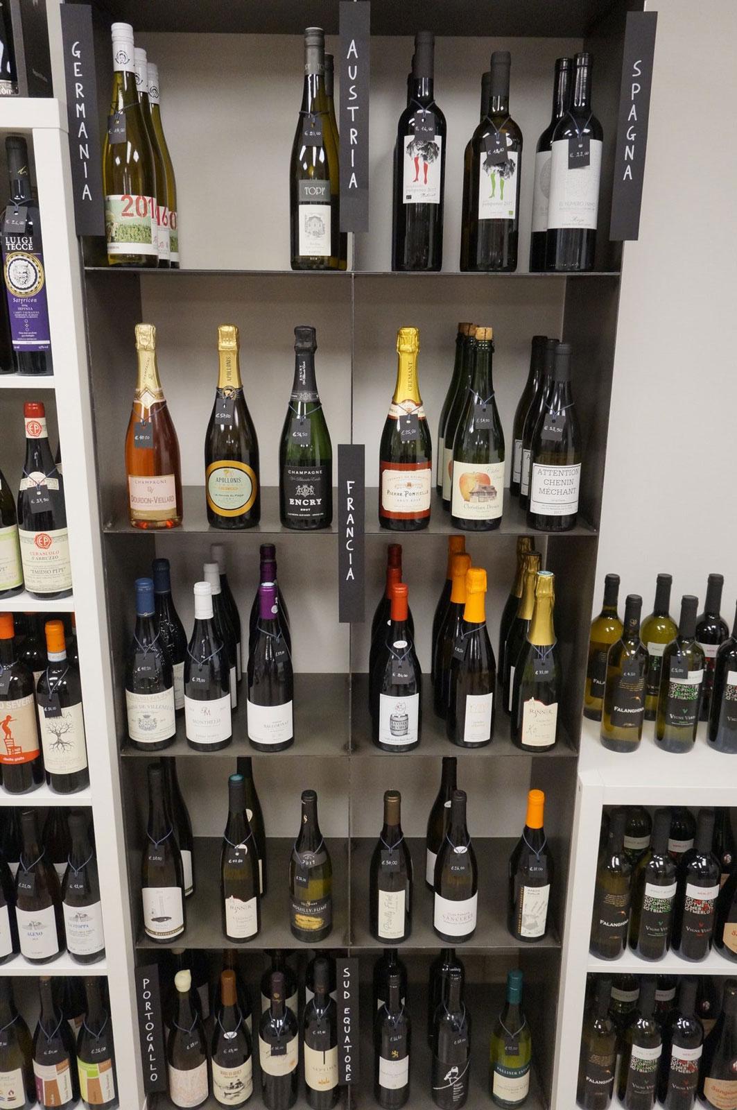 Enoteca di vini dalla Francia, spagna e austria Botrytis
