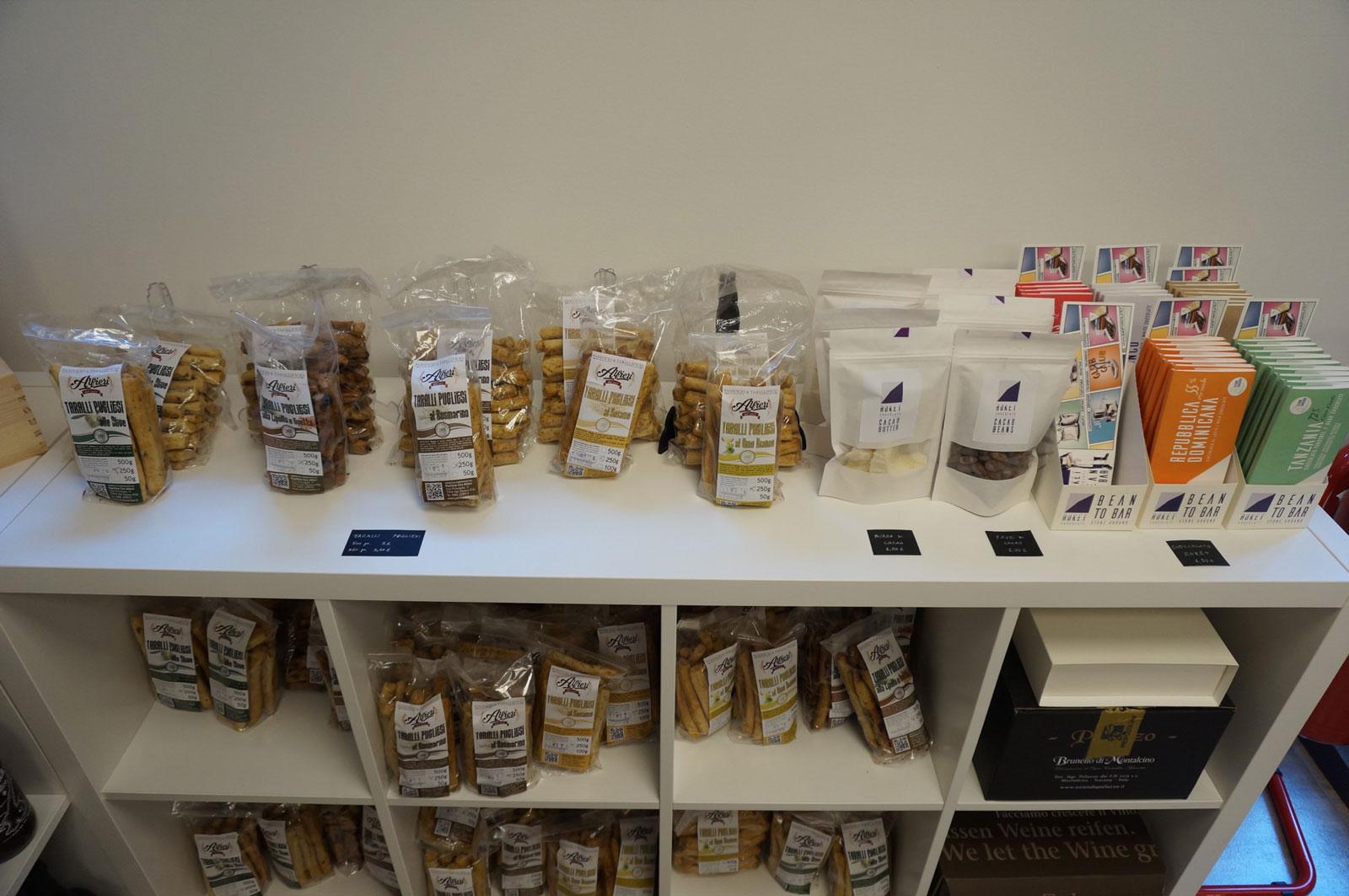 Taralli pugliesi e Ruket Chocolate cacao in vendita da botrytis